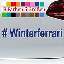 Generic # Winterferrari Aufkleber Winterauto