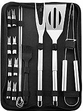 Generies Grill-Grillwerkzeug-Set aus