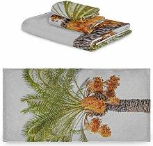 Generies Reisetuch Set Dattelpalme Pflanze