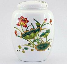 generisch Teedose aus Porzellan für losen Tee mit