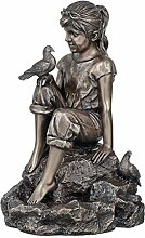 Genesis Bronze-Statue von Bird of Peace