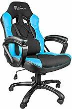Genesis SX33 Gaming Stuhl Bürostuhl Schreibtischstuhl Gaming schwarz/blau