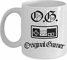 Genialer Spielebecher - OG Original Gamer Coffee &
