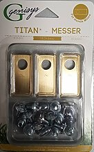 Genisys 18 Titan Ersatz-Messer Klingen & 18