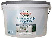 Genius Küchen & Bad Wandfarbe Badweiss Weis