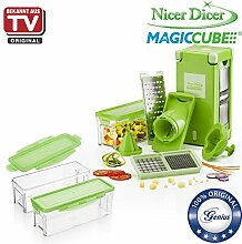 Genius Nicer Dicer Magic Cube inkl.