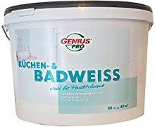 Genius pro Küchen & Badweiss Wandfarbe ideal für