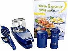 Genius - Schneid Set Classic blau 26052