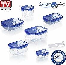 Genius SmartVac SV5000 Universal-Vakuum-Dose | 13 Teile | Bekannt aus TV | NEU