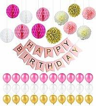 Genmer Geburtstagsdeko, Kindergeburtstag Deko