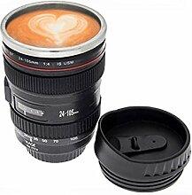 genmine 400ml Kamera Lens Mug Kamera Objektiv Tasse, perfekte Geschenk für die Fotografie Enthusiasten