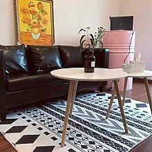 Geometrie Home Teppiche 119,4x 160cm–memorecool Haustierhaus verschiedene Muster Kein Verblassen anti-slipping einfachen Stil Wohnzimmer Tee Tisch Teppiche, Pattern19, 63x91inch