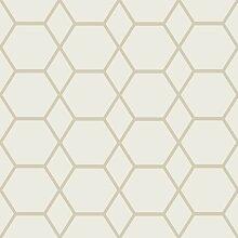 Geometriemuster Tapete Casca 10,05 m x 53 cm East