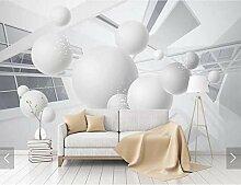 Geometrische abstrakte Tapete Ball Fototapete