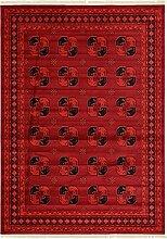Geometrische Bokhara Bereich Teppich,