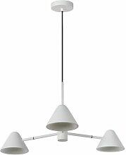 Geometrische LED-Pendelleuchte 3-flammig Lucide