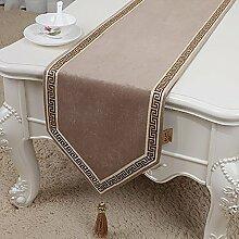 Geometrische Muster Tischläufer Bett Läufer