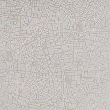 Geometrische Tapete Maps 1000 cm x 52 cm East