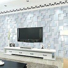 Geometrische Tapeten für zu Hause Moderne Wand CoveringNon-Gewebe Material Kleber erforderlich, Wallpaper, Gelb