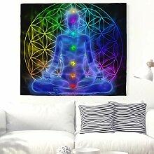 Geometrische Yoga Meditation mit Chakras