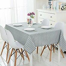 Geometrisches Muster Rechteckige Tischdecke ( größe : 120*120cm )