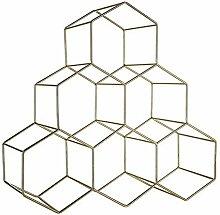 Geometrisches Weinregal, Modernes Minimalistisches