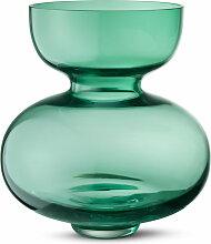 Georg Jensen - Alfredo Glasvase, grün, 25 cm