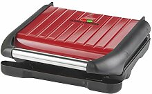 George Foreman 25040 Five Portion Family Grill, Red