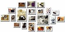 GEPFD-Photo 20 Multi-Bilderrahmen-Set,