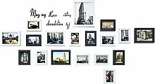 GEPFD-Photo Bilderrahmen-Collage, 18