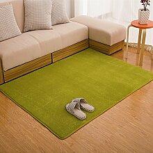 Gepolsterte waschbare Coral fleece Teppich/Einfache und moderne Wohnzimmer Schlafzimmer Bett Teppichboden-L 120x160cm(47x63inch)