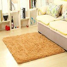 Gepolsterten waschbaren Teppich/Wohnzimmer-Sofa-Bett Schlafzimmer Teppich-B 65x160cm(26x63inch)