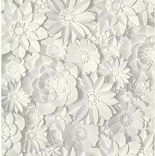 Geprägte Tapete Dimensions Floral 10,05 m x 53 cm