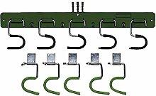 Gerätehalter 5 Stück mit Halteplatten mit Halteplatten