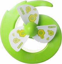 Geräuschloser Mini Fan, Grün