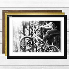 Gerahmter Fotodruck BMX Bike East Urban Home