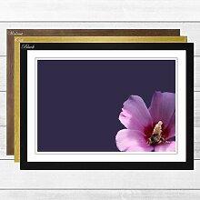 Gerahmter Fotodruck Flower Lilac Purple Pink Big