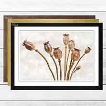 Gerahmter Fotodruck Flower Poppy Big Box Art
