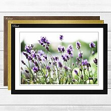 Gerahmter Fotodruck Flower Purple Lavender Big Box