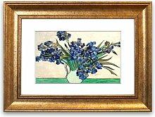 Gerahmter Fotodruck Iris in einer Vase von Van