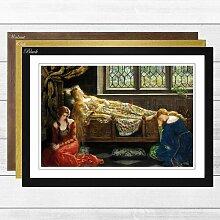 """Gerahmter Kunstdruck """"Sleeping Beauty"""" von"""