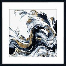 Gerahmtes Acrylbild Abstrakt I