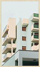Gerahmtes Acrylbild Gebäude