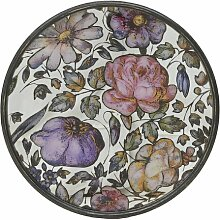 Gerahmtes Glasbild Blumen Ophelia & Co.