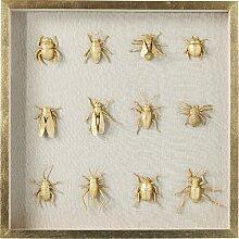 Gerahmtes Glasbild Bugs KARE Design