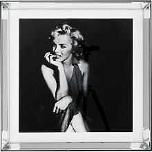 Gerahmtes Glasbild Hollywood Diva KARE Design