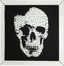 Gerahmtes Glasbild Rockstar in Schwarz/Weiß KARE