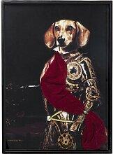 Gerahmtes Glasbild Sir Dog KARE Design