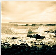 Gerahmtes Leinwandbild Noosa Küste, Australien