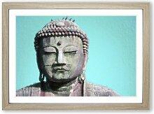 Gerahmtes MDF-Bild The Great Buddha of Kamakura in